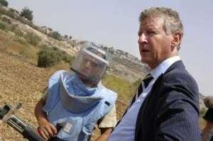 Pieter De Crem - Ministre de la Défense belge en visite au Liban