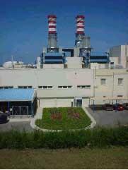 Zahrani - centrale électrique