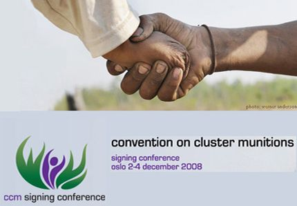 Convention on cluster munitions - Convention sur les bombes à sous-munitions