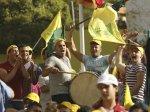 Hezbollah - manif & fiesta